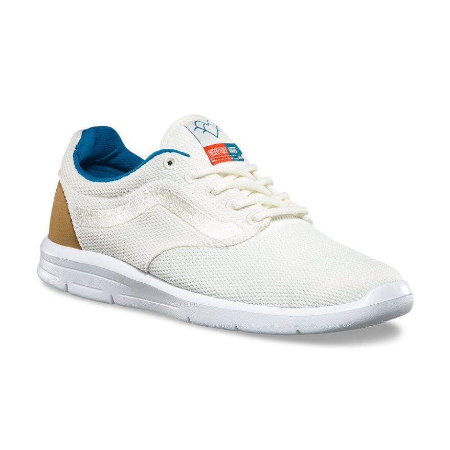 Vans ISO 1.5 Aimee Fuller White Running Shoes Women's 11 Skate New Athletic