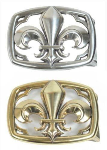 BOUCLE DE FERMETURE BOUCLE CEINTURE BOUCLE LIS Designer Boucle vissée pour 4 cm