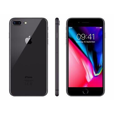 Apple iPhone 8 Plus - 64GB - Spacegrau - (Ohne SIM-Lock) - NEU - Händler