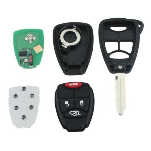 1x New Replacement Keyless Entry Remote Key Fob For Chrysler and Jeep