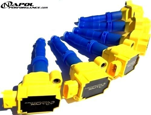 IGNITION COILS PACK PORSCHE 996 997 987 GT2 RS GT3 BOXSTER CAYMAN CARRERA TURBO
