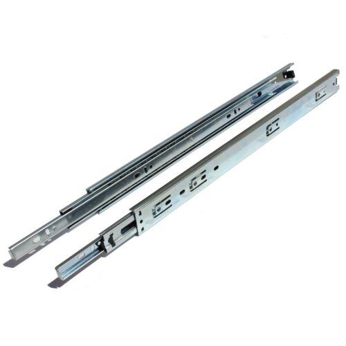 """environ 31.75 kg montage latéral roulement à billes tiroir diapositives GlideRite 14-22/"""" Extension complète 70 LB"""