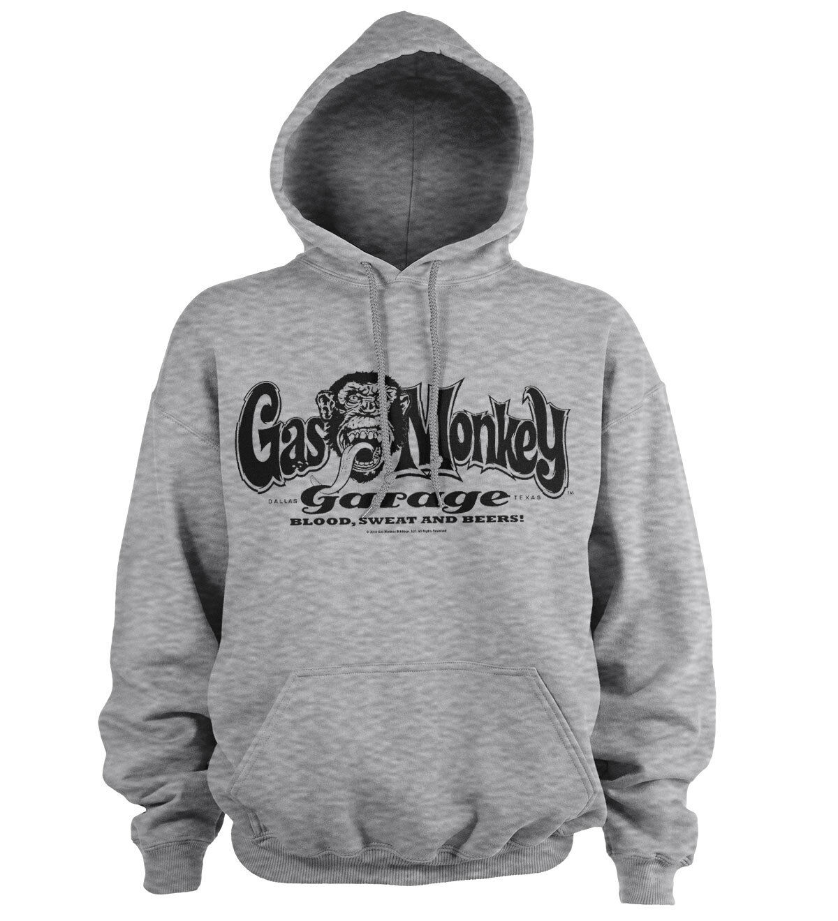 Offiziell Lizenziert Gas Monkey Garage Logo Kapuzenpullover S-XXL Größen