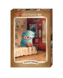 (HY29701) - Heye Puzzles - 500 Pc - Milk Tooth, Zozoville