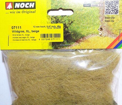 (17,48 €/100 g) encore 07111 Wildgras XL beige, hauteur 12 mm, streugras, 40 g sachet