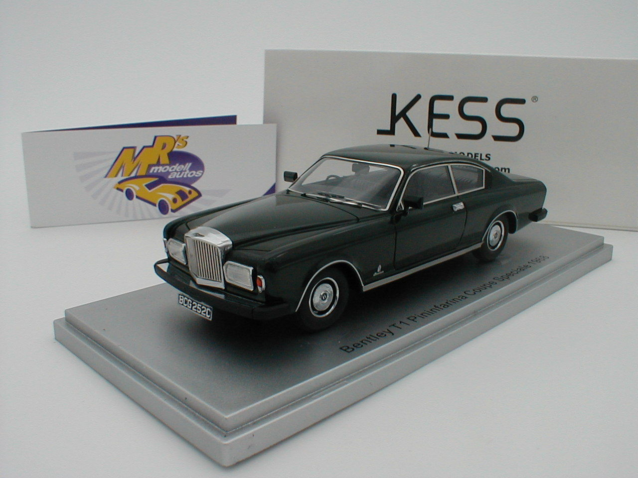 Kess 43043000 - bentley t1 macsharry coupé speciale bj.1968 britishGrün 1 43