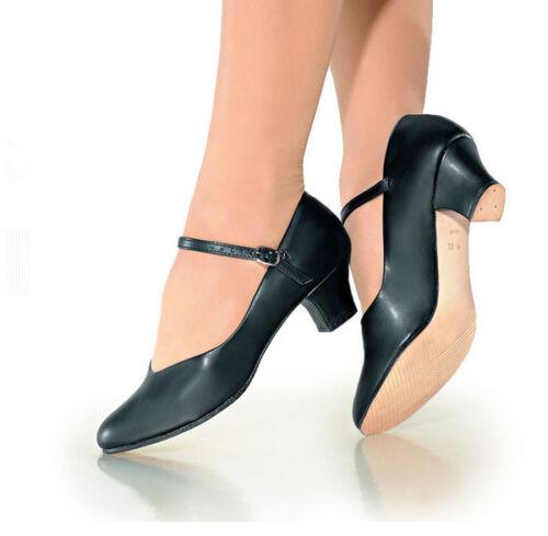 So Danca CH50 Women/'s Size 6M Black Character Shoe Fits Size 5.5