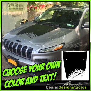 2014-2015-2016-2017-2018-Jeep-Cherokee-Mountain-Hood-Decal-Blackout-Style-4
