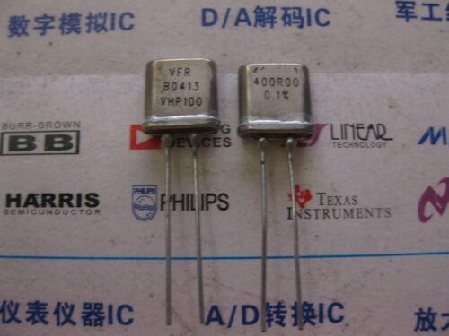 1X VHP100 400R00 0.1/% 0.3W  RADIAL Metal Foil seal Resistors 400Ω OHM