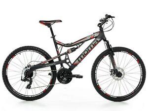 VTT-26-034-Mountainbike-ALUMINIUM-SHIMANO-PROFESSIONNEL-2xDISQUE-FULL-SUSPENSION