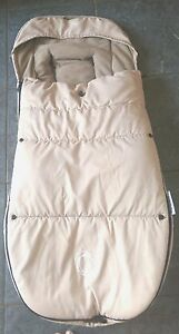cf6198ba2430 Image is loading Bugaboo-velcro-Toggle-Footmuff-off-white-Free-UK-