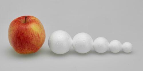 UK SUPPLIED 3.5cm 35mm POLYSTYRENE BALLS Sweet Tree Crafts Decoration Xmas