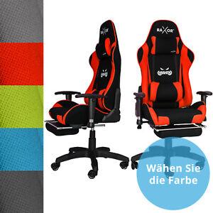 RAXOR® Kraken Bürostuhl Racing Gamingstuhl Schreibtischstuhl Drehstuhl Sportsitz