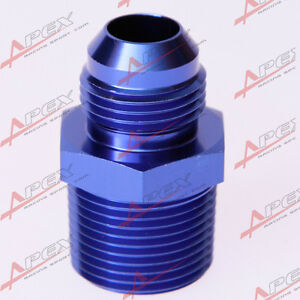 AN10-10AN-10AN-To-1-2-039-039-NPT-Straight-Adapter-Pipe-Fuel-Oil-Air-Fitting-Blue