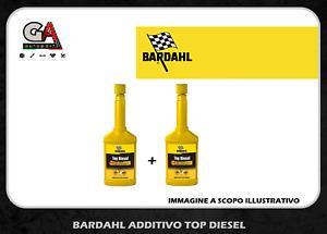 Additivo gasolio Bardahl top diesel 2 x 250 ml trattamento pulizia iniettori