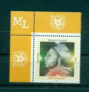 Allemagne-Germany-1996-Michel-n-1841-Martin-Luther