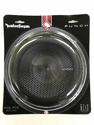 """Rockford Fosgate P2P3G-15 Grille Insert 15/"""" Stamped Mesh Grille"""