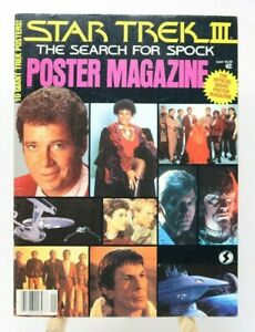 Star-Trek-III-The-Search-for-Spock-Poster-Magazine-Complete-VG