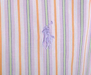 Men-039-s-RALPH-LAUREN-Cotton-Striped-Light-Purple-Long-Sleeve-Casual-Shirt-Size-S