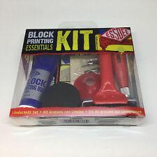 Essdee 10-tlg. Essential Block Druck Lino Schneiden & Drucken Starter Paket Set