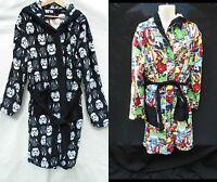 Primark Star Wars Marvel Super Heros Hooded Dressing Gown Sizes S/m L/xl