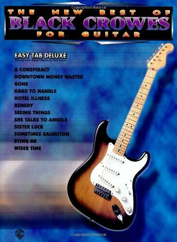 The New Best of Black Crowes for Guitar  Easy TAB Deluxe  The New Bes