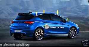 Opel-Astra-K-8-cornici-profili-superiore-finestrini-raschiavetri-acciaio-cromo