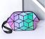2020-Hot-Holographic-Geometric-Luminous-Purses-Foldable-Makeup-Bag-Luminous thumbnail 25
