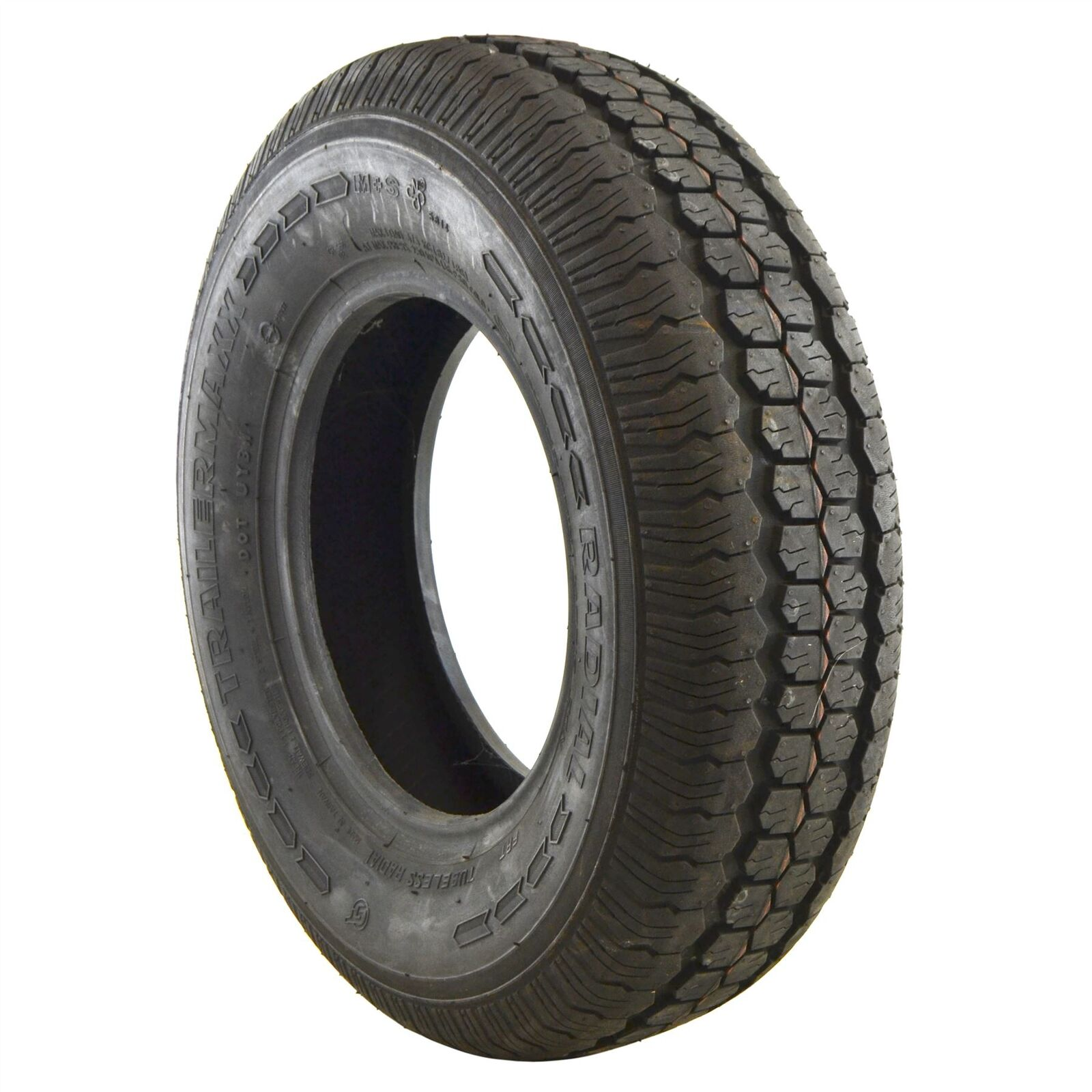 145 R10 Trailer Tyre Tire Only 74N Radial Tubeless 375kg Max 4 PLY TRSP35