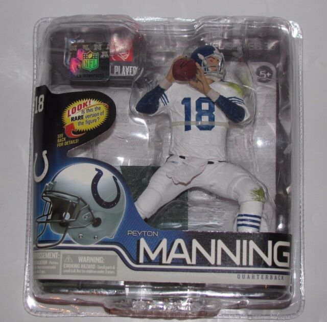 2012 MCFARLANE NFL SERIES 30 PEYTON MANNING COLTS RETRO CHASE VARIANT FIGURE NEW
