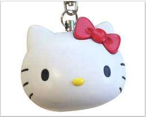 Hello Kitty Personal Alarm Keychain Safety Device 140 Db Very Loud