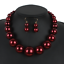 Fashion-Women-Crystal-Bib-Pendant-Choker-Chunky-Statement-Chain-Necklace-Earring thumbnail 154