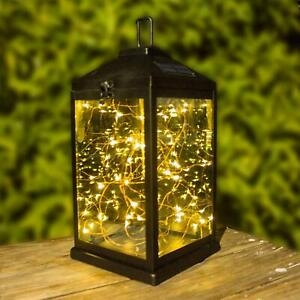 Details About Solar Lanterns Outdoor Hanging Sunwind Solar Metal Decorative Led Copper Lights
