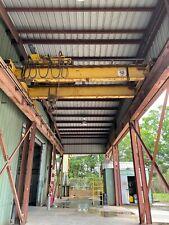 12 Ton 18 Span Overhead Bridge Crane With 12 Ton Hoist And 100 Of Rails