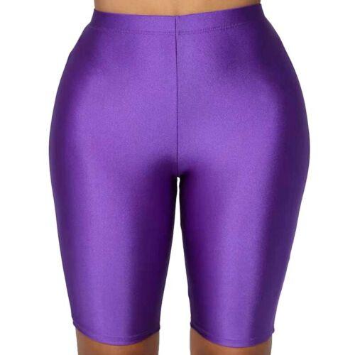 Damen Kurze Leggings Hose Sport Shorts Hotpants Radlerhose Laufhose Fitnesshose