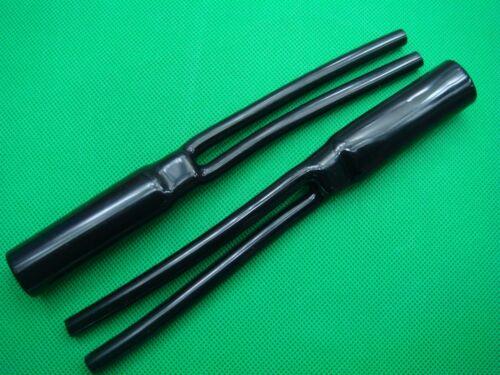 2,Bi-Wire Speaker Loudspeaker Cable Tube Y Sleeve Boots
