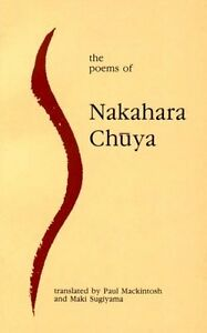 The-Poems-of-Nakahara-Chuya-Paperback-or-Softback