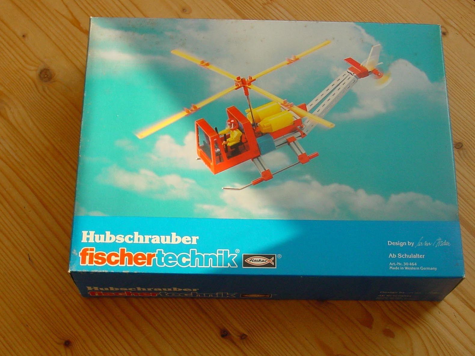 Fischertechnik - Hubschrauber -- Unbespielt