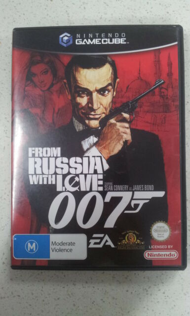 From Russia With Love 007 Gamecube