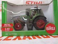Siku 3285 Model Toy Fendt 724 Vario Tractor 1:32 Scale Replica Model Farm Toy