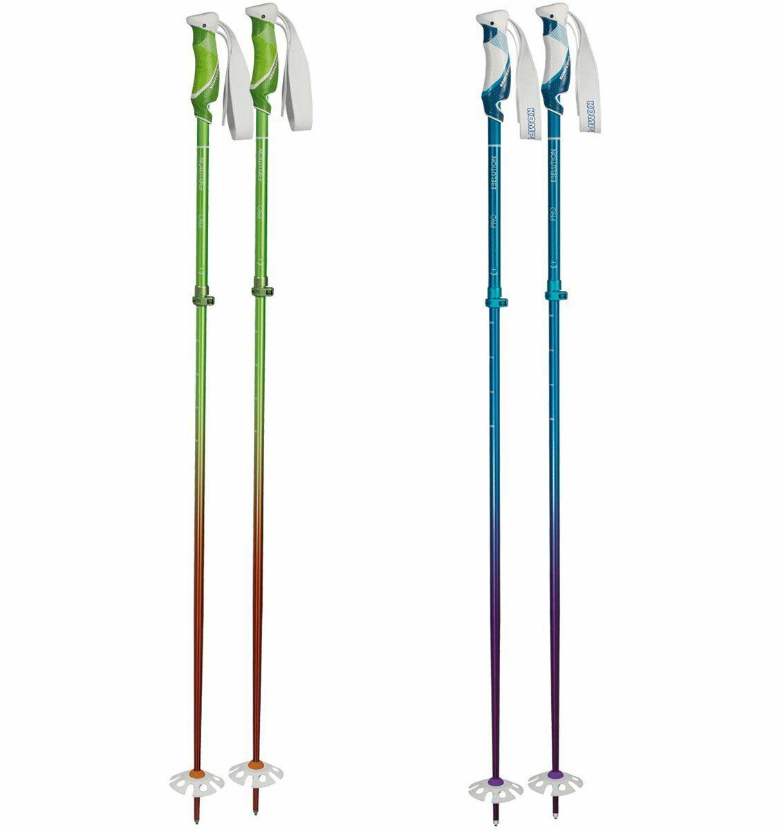 Komperdell Powder Pro Vario Ski Poles Bâtons de Réglable 105-135