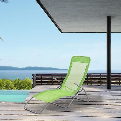 casa.pro® Sonnenliege Relaxliege Gartenliege Strandliege Kippliege Liegestuhl