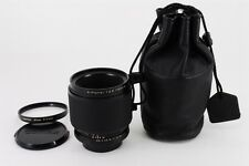 Contax Carl Zeiss S-Planar 60/2.8 AEG with Genuine P-Filter & Soft Case #423