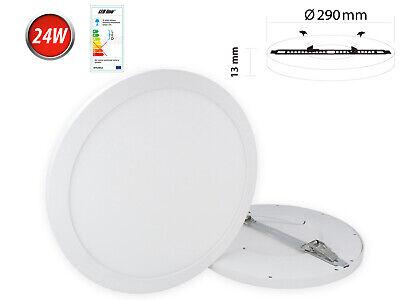 24w Led Panel Deckenlampe Aufputz Spot Leuchte Warmweiß Neutralweiß 2200 Lm Rund Und Verdauung Hilft