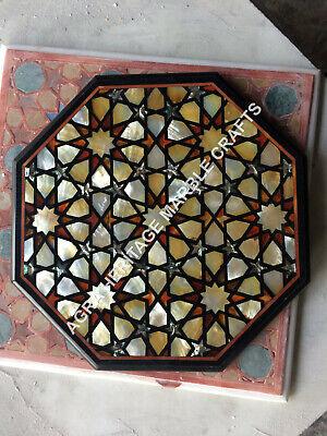 5/'/' x 7/'/' Multi Gemstone Inlaid Work White Marble Photo Frame Best Gift Decor