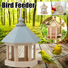 Wooden Bird Feeder Seed Catcher Save Bird Seed for Hanging or Pole Mount Feeders