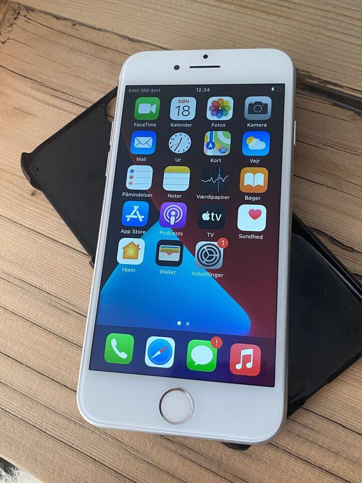 iPhone 7, 128 GB, hvid