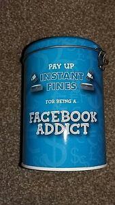 Facebook-Addict-fine-novelty-tin-VGC