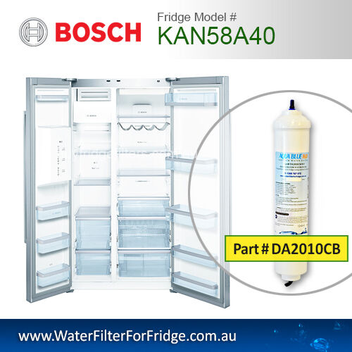 Bosch Premium External Replacement Filter for Fridge KAN58A40