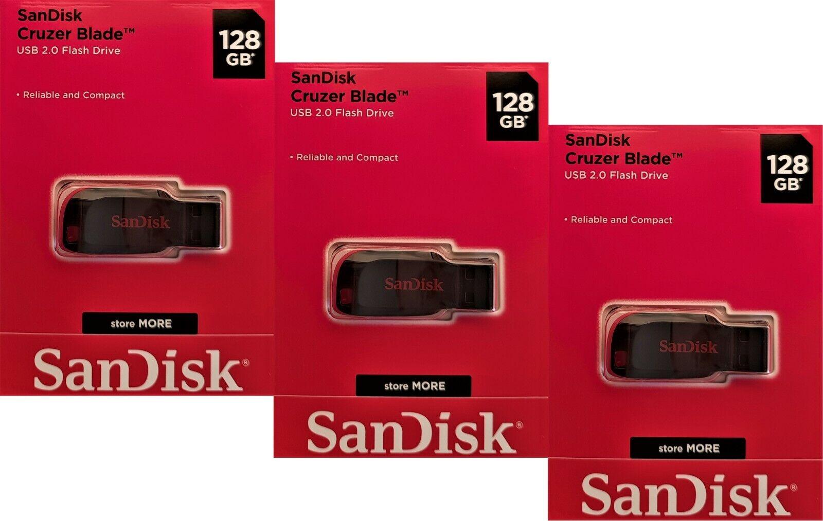 3x 128GB USB Stick